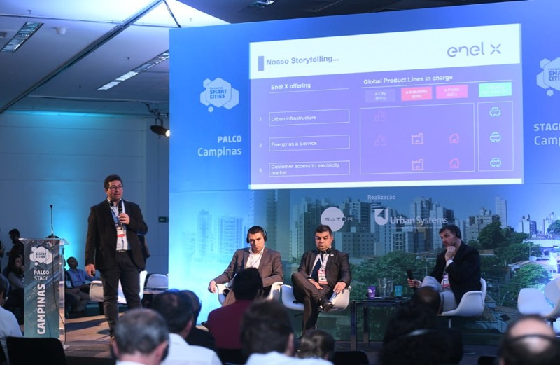 Enel X participa do Connected Smart Cities e Mobility 2019